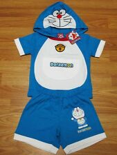 Doraemon Cotton Fancy Outfit Set T-Shirt+Shorts Size S-L age 2-5
