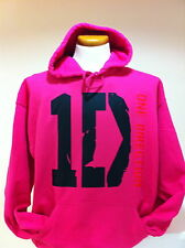 1D ONE DIRECTION HOODIE HOODED SWEATSHIRT OR T SHIRT ALL NEW HOT PINK - BNWT -