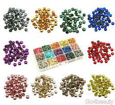 Mixed Box Sets of Hot Fix Iron On Metal Studs in Varies Sizes