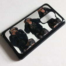 Cover for LG Optimus G2 D802  Monkey Funny Cute Evil Quirky Case x2128
