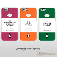 Sherlock Holmes iPhone cover. Benedict Cumberbatch classic penguin book cover 1