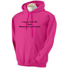 SLOGAN RIDING HOODIES equestrian wear horse/pony  fuller figure clothing XS-4XL