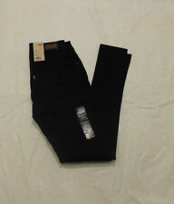 NWT JUNIORS LEVIS 535 LEGGING JEANS $46 BLACK 11997-0030