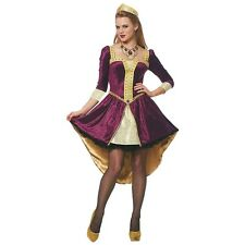 Medieval Costume Adult Renaissance Queen Halloween Fancy Dress