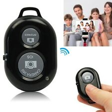 Wireless Bluetooth Camera Remote Control Selfie Shutter For iPhone Samsung Phone