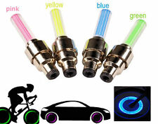 Bike Bicycle Spoke Wheel Wire Colorful LED Light with 3 Light Models 4 Color