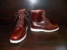 New Mens UGG Hannen Cordovan Work Waterproof Leather Sheepskin Lace Up Boots