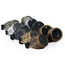 Victorian Steampunk Cyber GOGGLES Welding Punk Gothic Cosplay Vintage Glasses