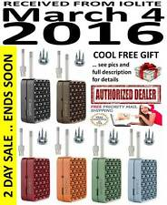 2015 IOLITE WISPR 2 VAPORIZER + OPTIMIZER + SCREENS + CHAMBER + COOL FREE GIFT