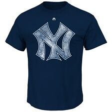 "New York Yankees Majestic MLB Cooperstown ""Lead the Pack"" Men's T-Shirt"