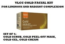 VLCC HERBAL GOLD FACIAL KIT SET OF-4 FOR LIMINOUS AND RADIANT COMPLEXION