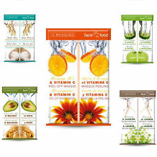 Montagne Jeunesse  'Face Food' Mixed Face Mask Sachets - All Skin Types. Unisex