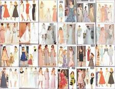 Butterick Sewing Pattern Misses Bridal Evening Gown Bridesmaid Prom Party Dress