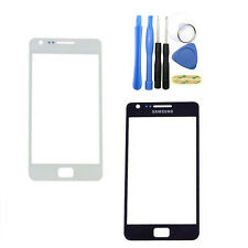 BLACK OR WHITE Front Glass Outer Screen Lens For SAMSUNG GALAXY S2 SII i9100