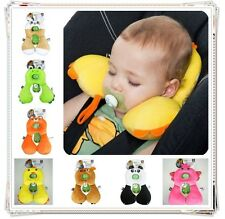 Kid safe travel Support Neck Head Pillow U-Shape for Baby Carriage Stroller Car