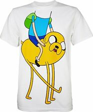 Adventure Time With Finn And Jake Friends Costume Official Men's Adult T-shirt