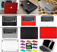"""5in1 3D Carbon Fiber Sticker Keyboard Screen Protector For Macbook Air 13""""A1369"""