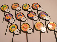 12 TEAM UMIZOOMI birthday party Cupcake Topper/food picks w/ Custom childs age