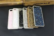 E047 New Luxury Bling shiny Diamond crystal hard cover case For IPhone 4G/5G AU