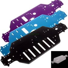 RC model 4WD car spare parts 1:10 HSP Racing Aluminum Plastic Alloy Chassis