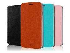 MOFI Thin PU Leather Wallet Steel Flip Cover Case for LENOVO A516