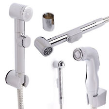 BIDET igienico DOUCHE KIT SPRAY CROMATO WC piccolo tubo doccia HEAD SET