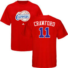 Jamal Crawford Los Angeles Clippers ADIDAS Player Jersey Red T Shirt Men's