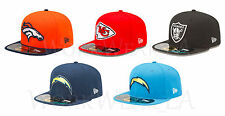 New Era 5950 AFC West OnField Cap NFL Fitted Hat Broncos Chiefs Raiders Chargers