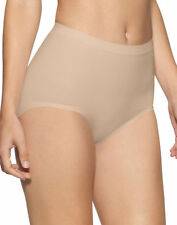 Bali Women's Seamless Four Way Stretch Firm Control Brief, 2-Pack. X204