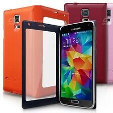 Aras Boiny View Flip Case for Samsung Galaxy S5 Case 5 Colors made in Korea