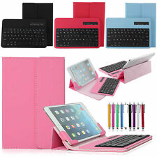 "US Stock 7"" Universal Bluetooth Keyboard Case Cover For 7.0 - 7.9"" inch Tablets"