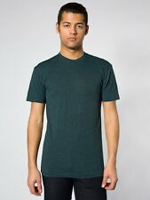AMERiCAN APPAREL bb401 POLY COTTON 50/50 SHORT SLEEVE CREW NECK UNiSEX T SHiRT