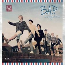 B.A.P (BAP) - B.A.P Unplugged 2014 (4th Single Album) CD + Poster + Photo Card