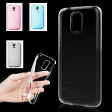 0.3mm Clear Ultra Thin Soft TPU Back Case Cover Skin for Samsung Galaxy S5 i9600