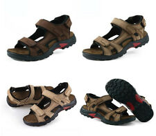 New Men Sports beach Sandals Velcro Strap comfort plus size holiday loafer shoes