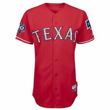 2012 Texas Rangers 40th Anniv. Authentic Cool Base Alternate Red Jersey (40-52)