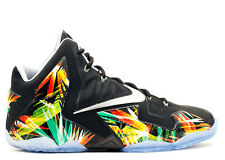 Nike Lebron XI 11 Everglades Black Multi 616175-006 MVP HEAT JAMES