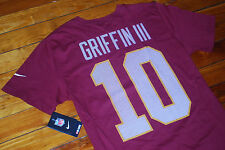 NEW #10 Robert Griffin III RG3 Washington Redskin Jersey T-shirt (Medium, Large)
