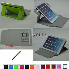 "Colorful Sucker Leather Case Cover+Pen For 7"" Visual Land Prestige 7 7L Tablet"