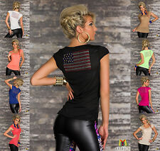 7023 Uk, 100% polyester, Cap Sleeve, Casual, Hip Length, Scoop Neck, Semi Fitted