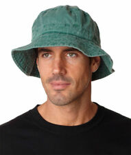 Adams Relax Pigment Dyed Garment Washed Cotton Vacationer Bucket Cap. VA101