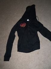 NEW JR BLACK HOODIES SPORT Jacket~U PIC~SOCCER~BASKETBALL~GYMNASTIC~SWIM MED LRG