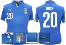 *14 / 16 - PUMA ; ITALY HOME SHIRT SS / ROSSI 20 = SIZE*