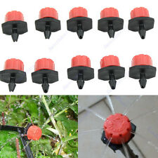Garden Irrigation 10 20 50pcs Misting Micro Flow Dripper Drip Head 1/4'' Hose