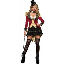Ringmaster Costume Women Sexy Adult Halloween Circus Fancy Dress