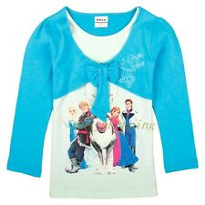 New arrivals! Hot! Frozen Queen Elsa Anna 1Y-6Y Kids Girls T shirt Long Sleeve