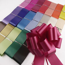 Large 50mm Ribbon Pull Bow Pullbow Florist Pew 10m - CHEAPEST ON EBAY GUARANTEED