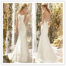 2014 White/Ivory Wedding Dress Bridal Gown Custom Size :6 8 10 12 14 16 18++