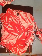 Victorias Secret Swim Cover Up NWT Greek Print Matches Swimsuit (sold out)