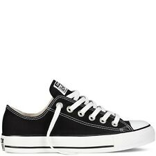 Converse All Star Chuck Taylor Black White OX M9166 Canvas BRAND NEW - ALL SIZES